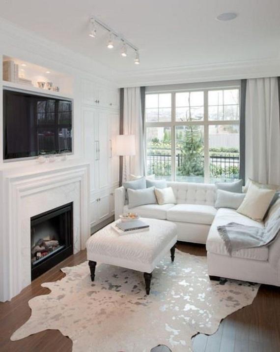 Белые диваны в интерьере